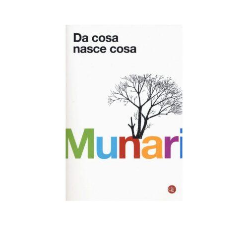"""Libro """"Da cosa nasce cosa"""" di Bruno Munari, LATERZA"""