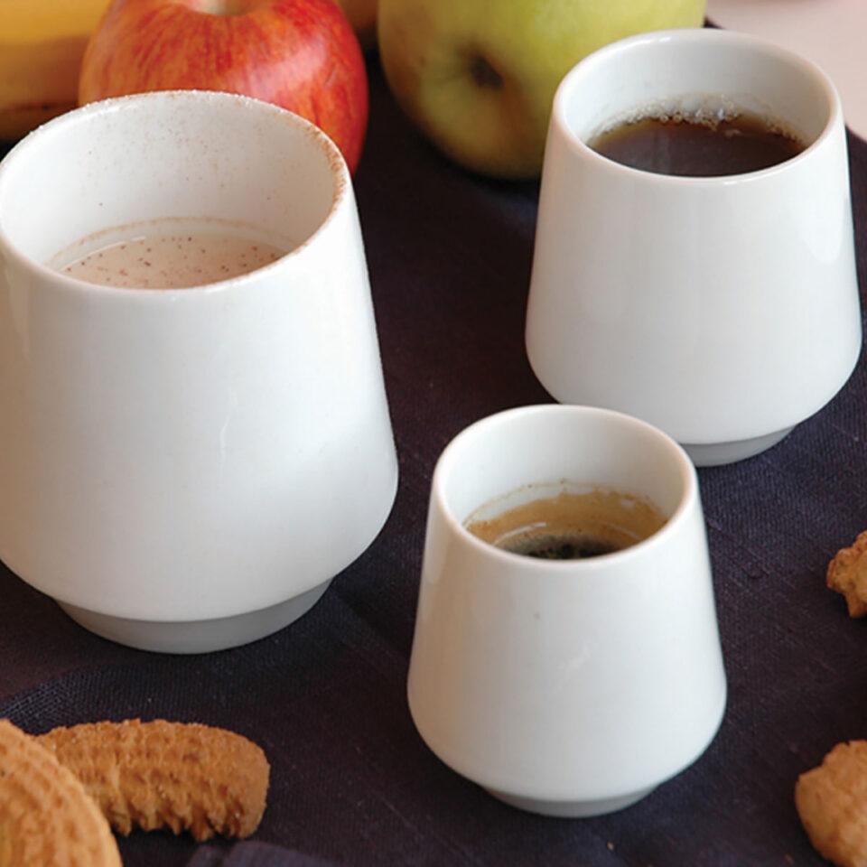 Bicchieri Porcellana Habit COVO colazione