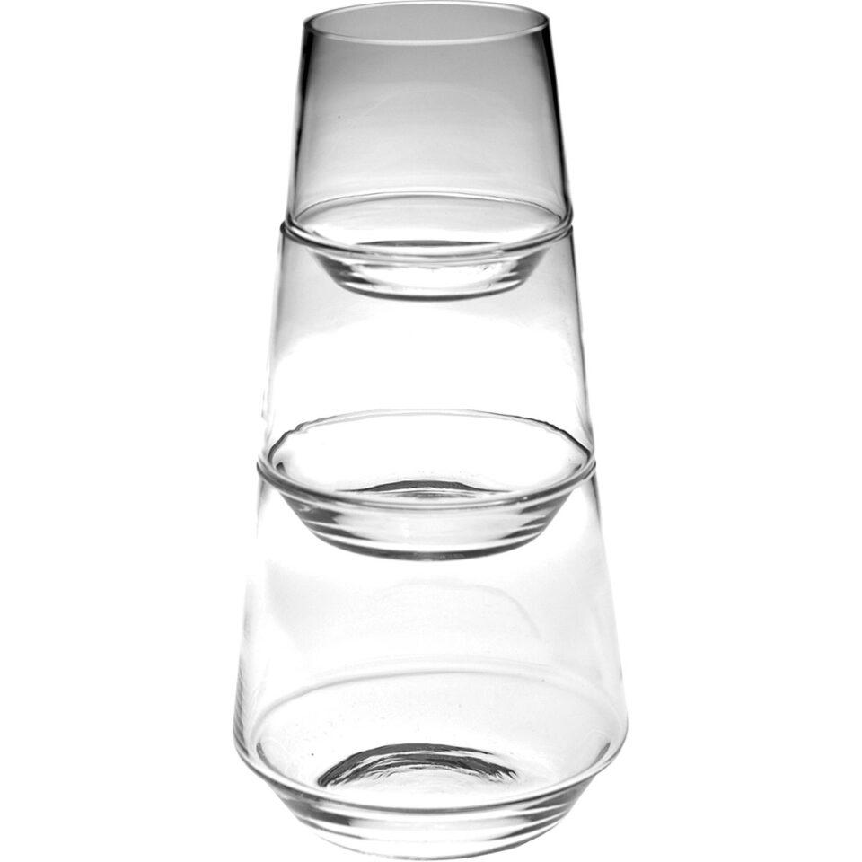 Bicchieri Vetro Habit COVO piramide