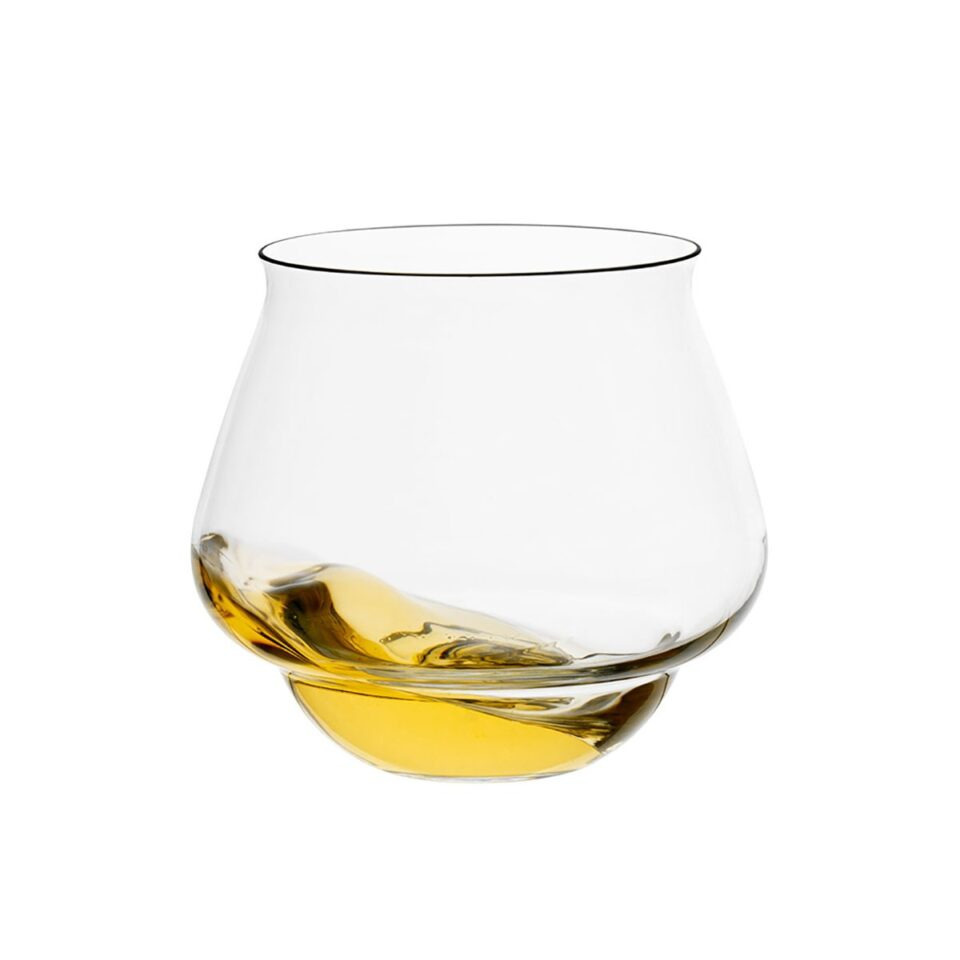 Bicchieri vetro soffiato Go-Go ITALESSE stravecchio