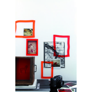 cornici foto souvenir geelli rosso