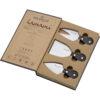 Coltelli Tre formaggi Lamami box ulivo