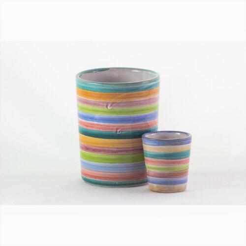"Bicchieri Ceramica ""Colore"" DACIARTE"
