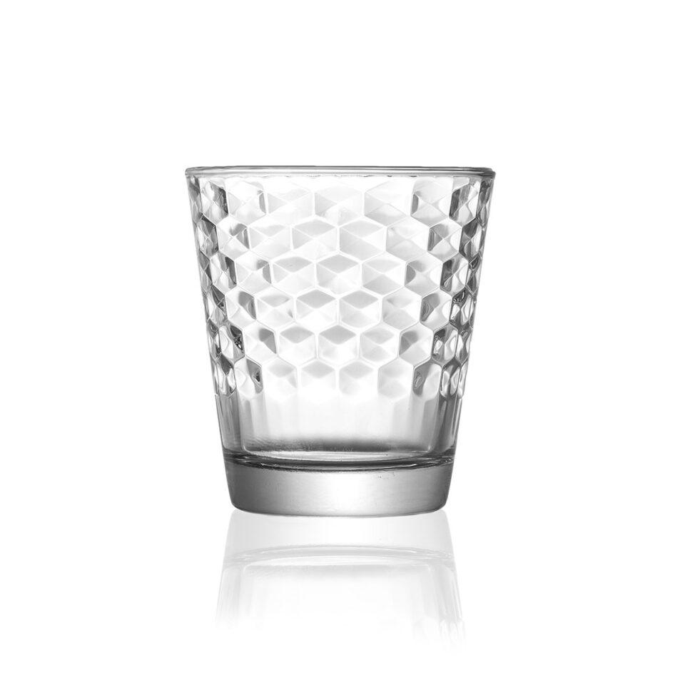 Set di Bicchieri Vino Dixie Vetro
