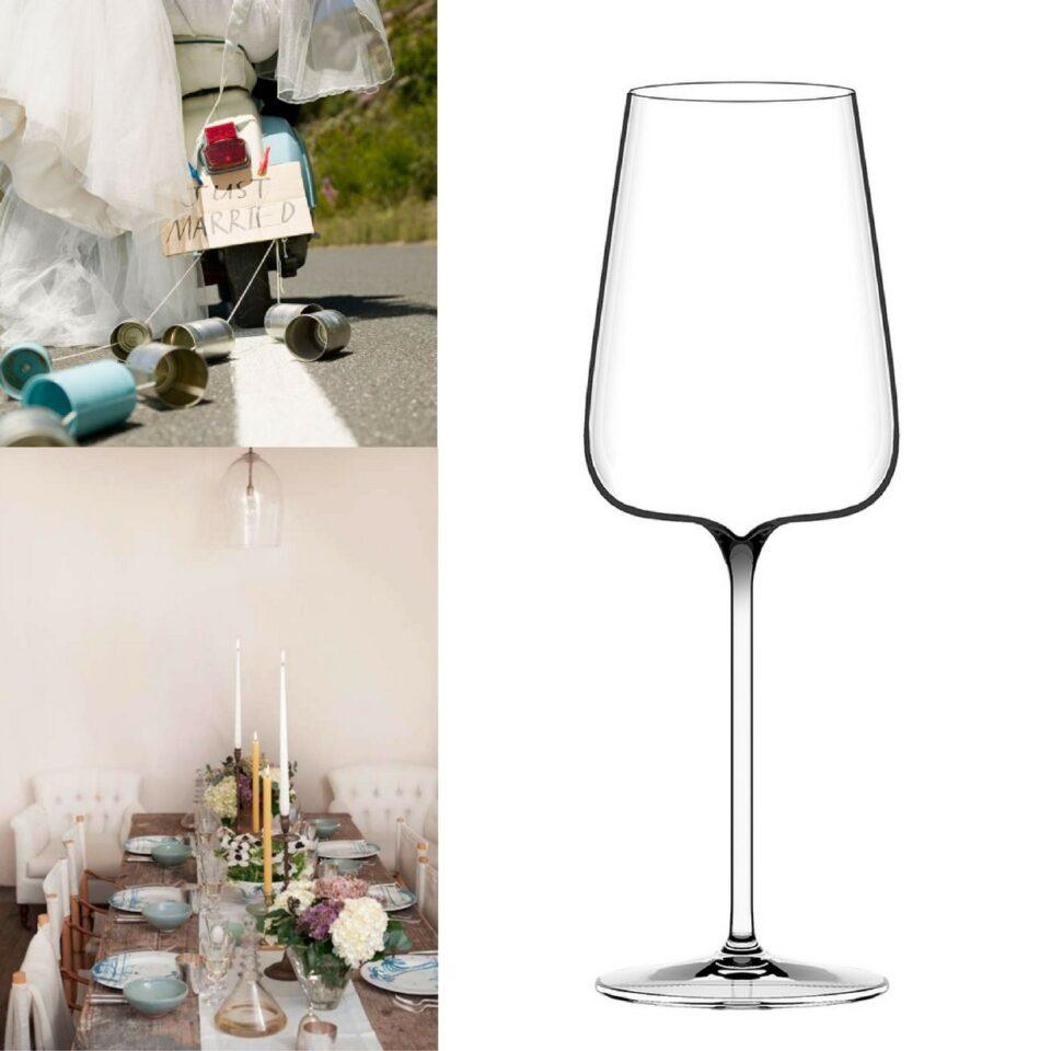 Calici Vino Etoilé Blanc ITALESSE