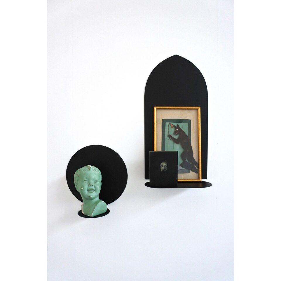 Mensole in acciaio collezione Aureole 26 cm Covo