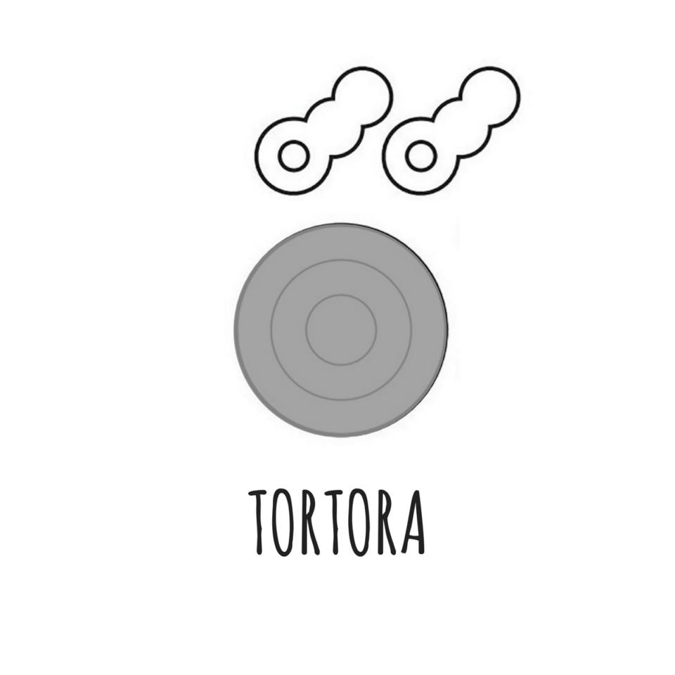 Portachiavi magnetico Tiro a segno TOR