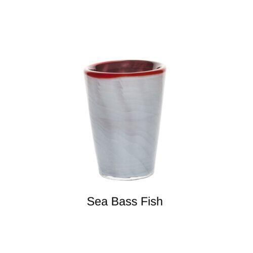 Bicchiere colorato Sea Bass fish Mares Italesse (in vetro soffiato)