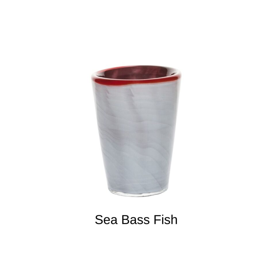 Bicchieri in Vetro Soffiato Mares ITALESSE Nuove Livree_Sea Bass