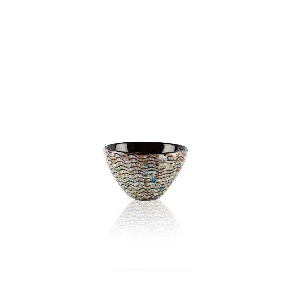 Mares Bowl n.8 ITALESSE ciotolina in vetro soffiato oyster fish
