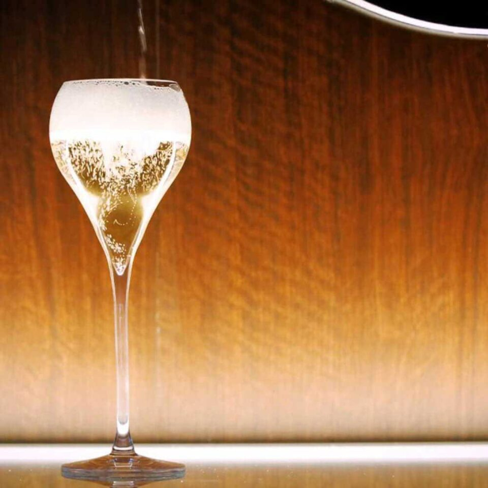 Italesse Calici Grand Balloon Flûte Spumante Champagne