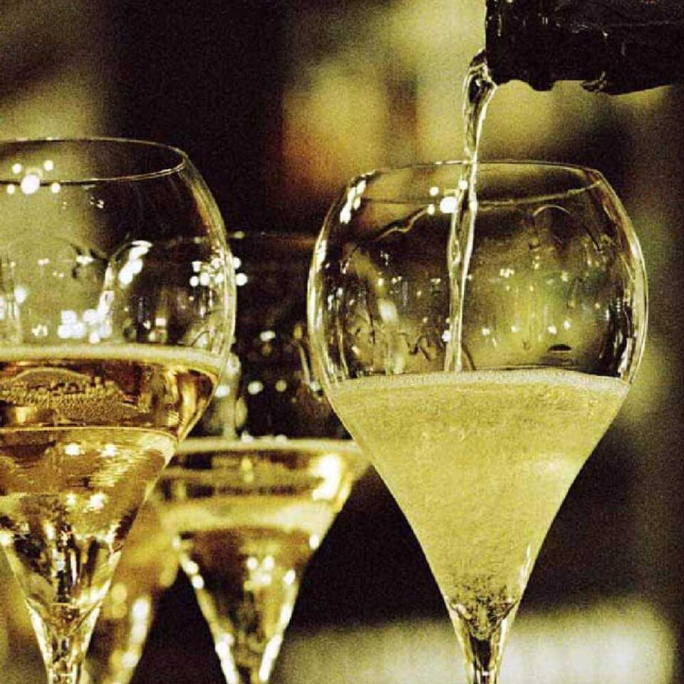 Italesse Calici Grand Balloon Flûte Spumante Champagne Mescita