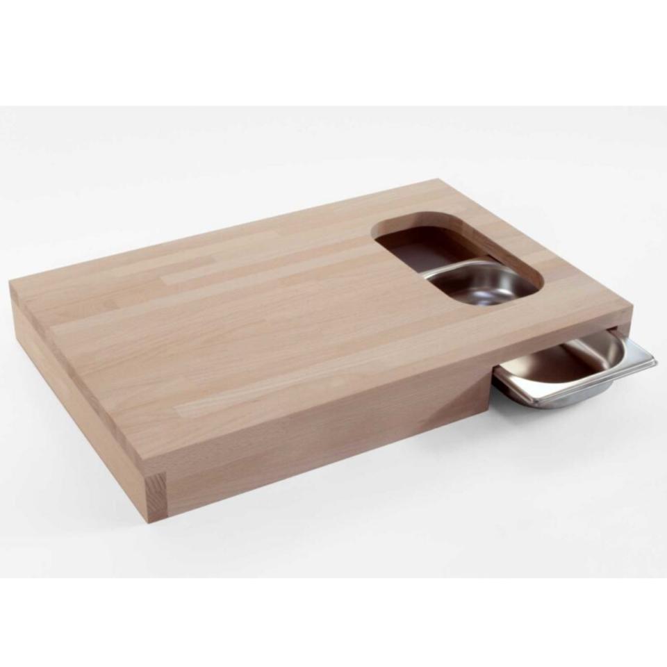 Tagliere legno Progetti con vaschetta Chop2