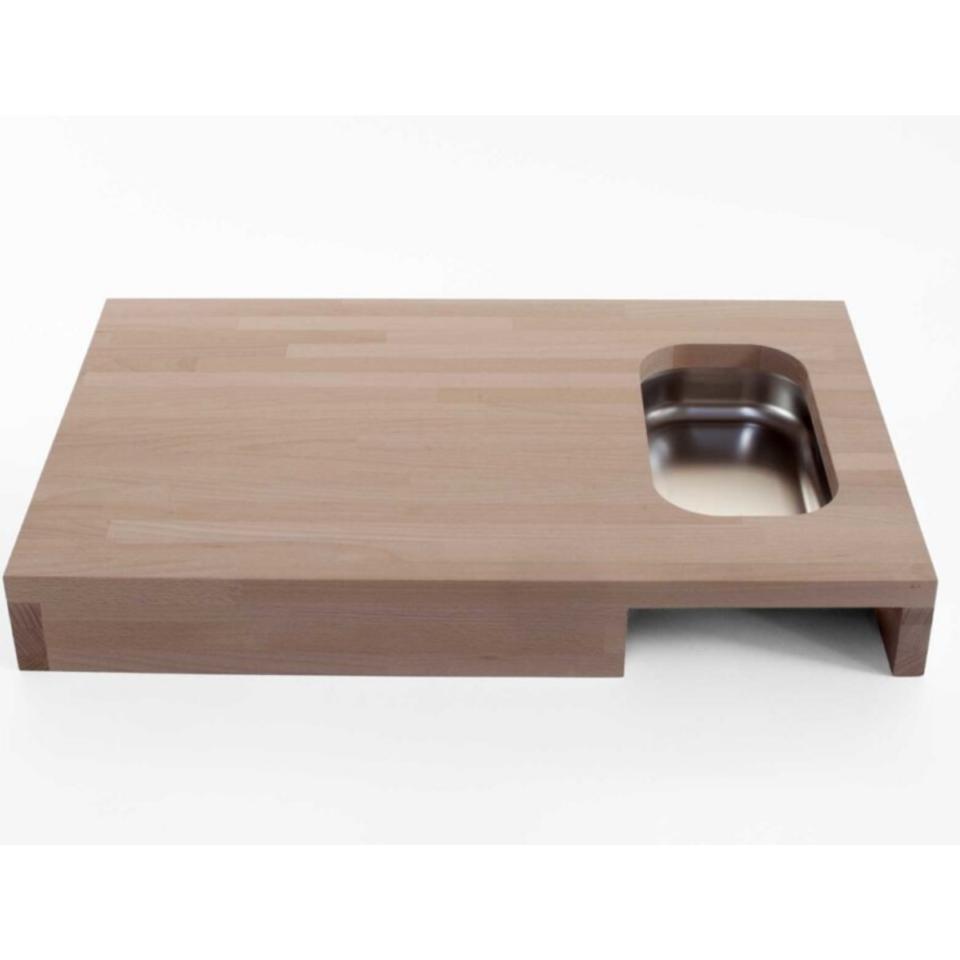 Tagliere legno Progetti con vaschetta Chop4