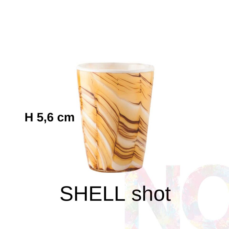 Shot Mares Italesse vetro soffiato Shell