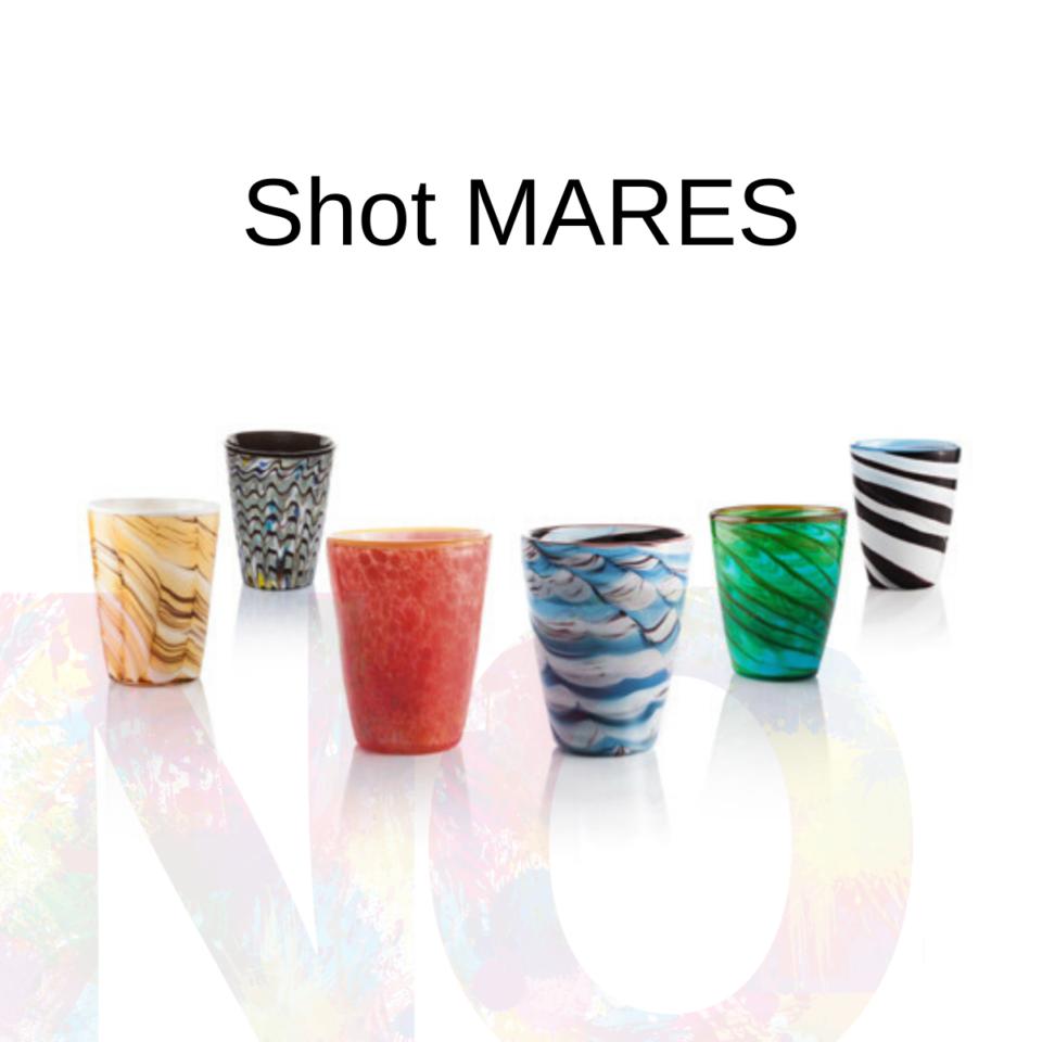 Shot Mares Italesse vetro soffiato mix 1