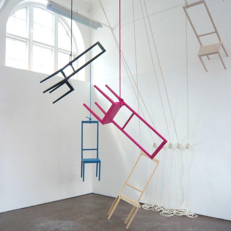 Servomuto design Alfred COVO Installazione artistica