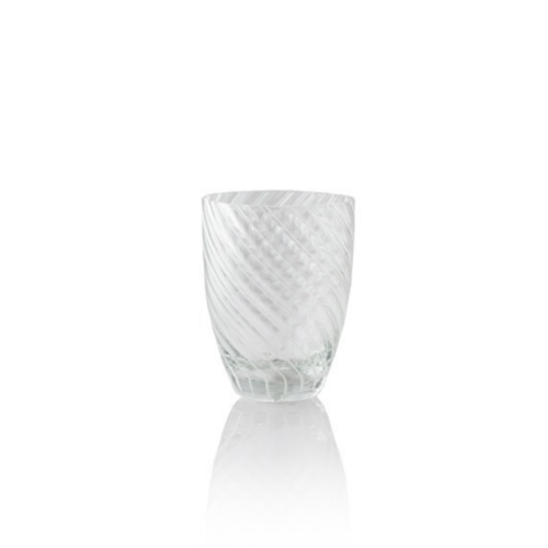 6 bicchieri Vertigo trasparente e bianco Italesse