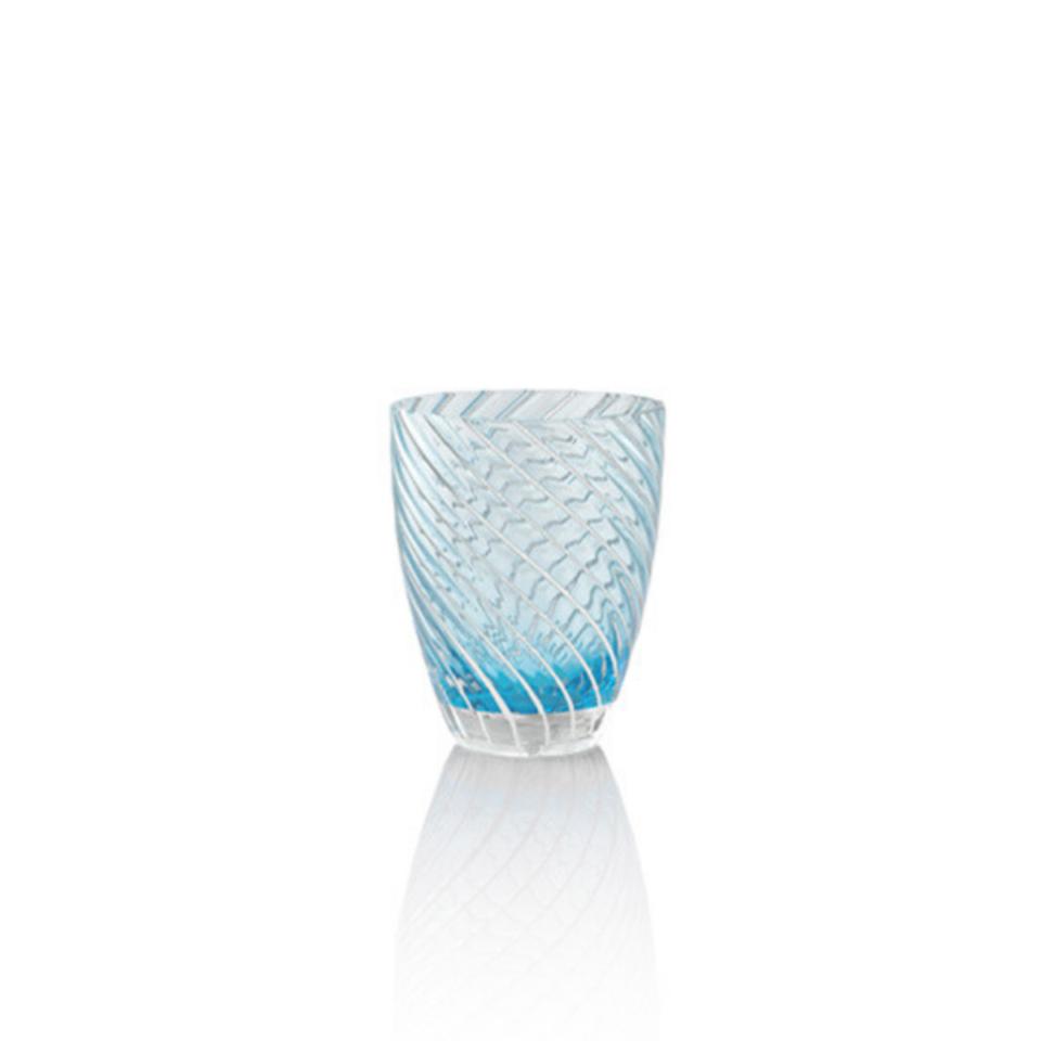 Vertigo Tumbler Glass Italesse-blu