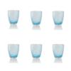 Vertigo Tumbler Glass Italesse-6 blu