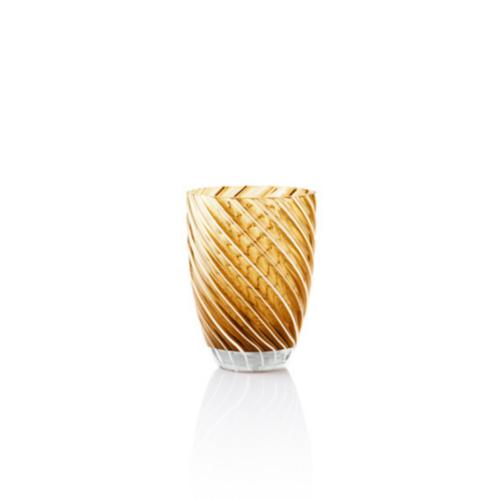Vertigo Tumbler Glass Italesse-giallo