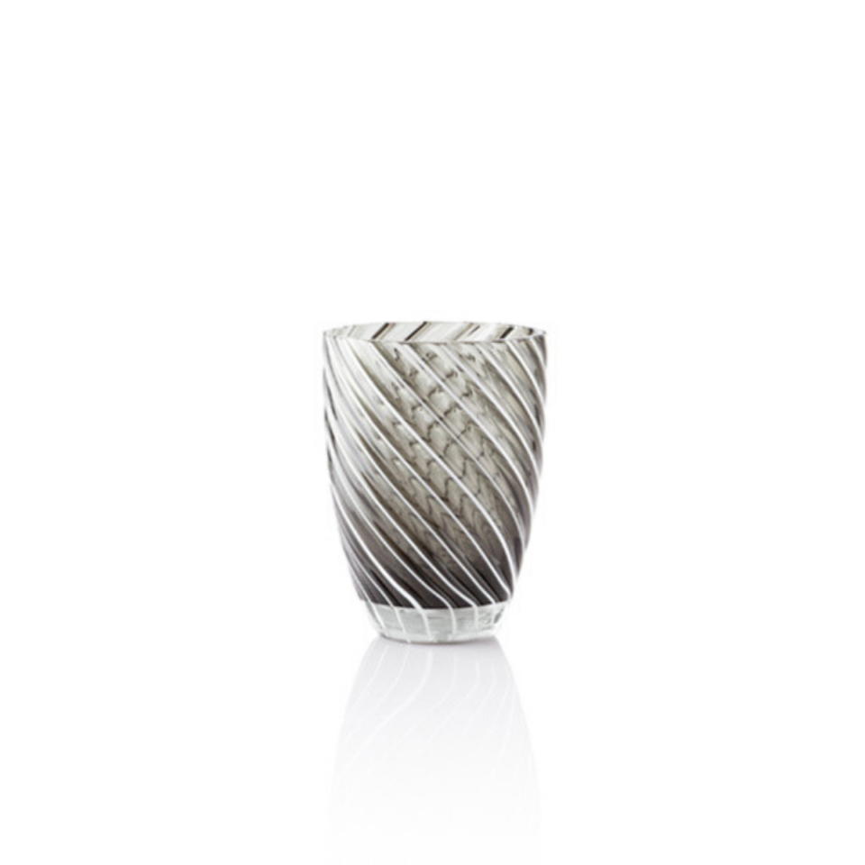 Vertigo Tumbler Glass Italesse- nero
