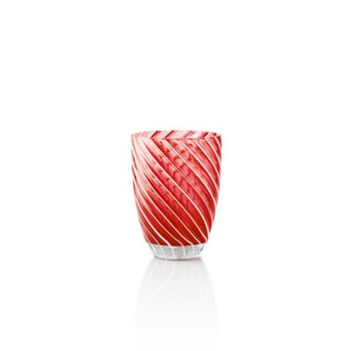 6 bicchieri Vertigo Rosso Italesse