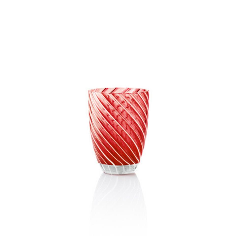 Vertigo Tumbler Glass Italesse-rosso