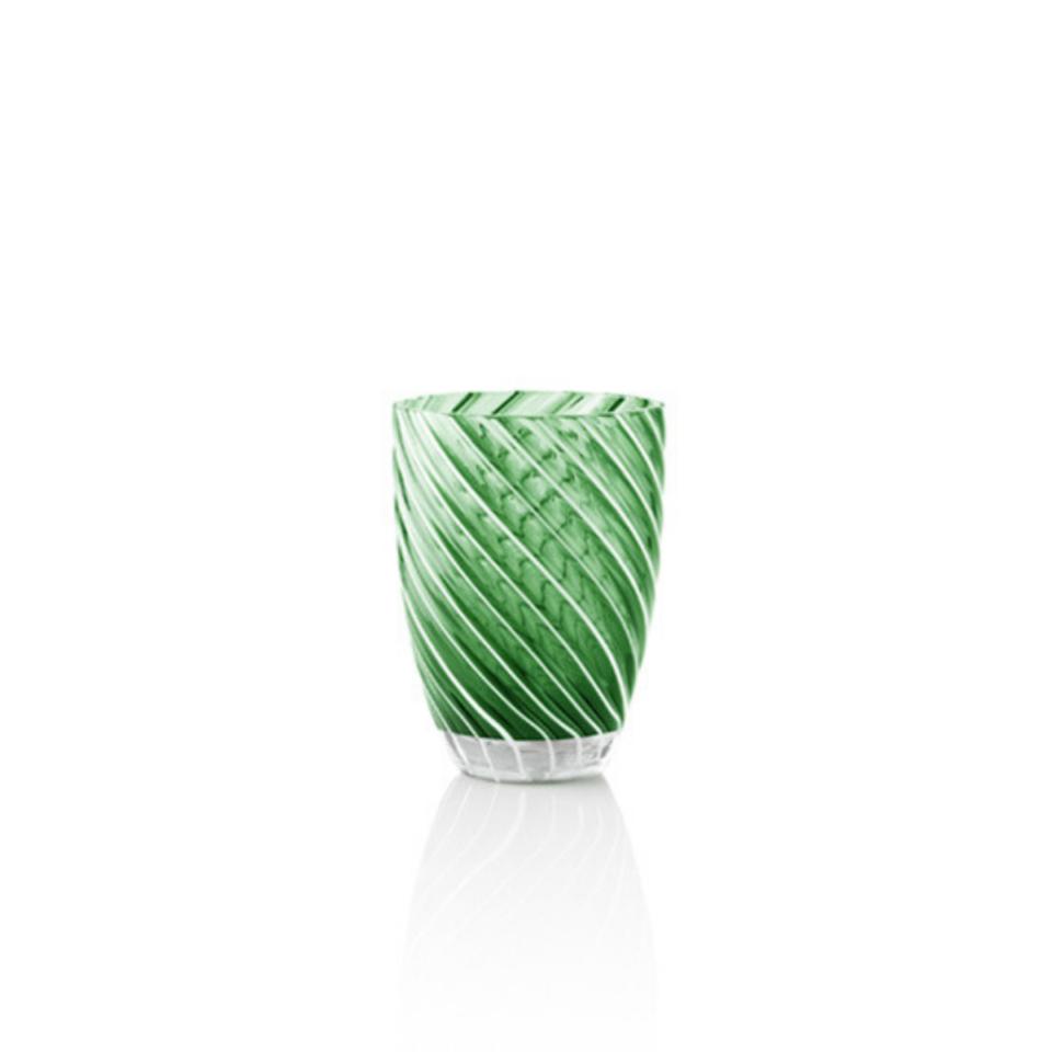 Vertigo Tumbler Glass Italesse-verde