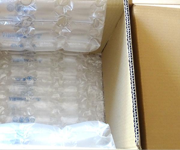 Le box nuove vengono rivestite di rinforzi e materiale assorbente degli urti.