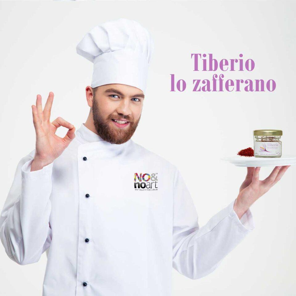 Tiberio Lo Zafferano puro al 100% in stimmi 0,5 grammi