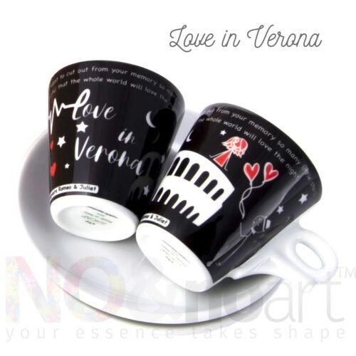 Tazzine caffè per 2 Romeo and Juliet di Ancap
