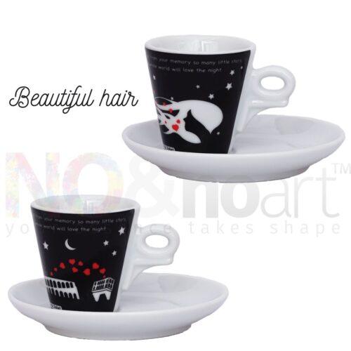 2 Tazzine caffè Romeo and Juliet