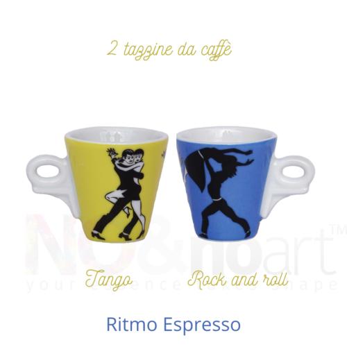 2 tazzine Ritmo Espresso Ancàp