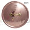 Coperchio rame 16 cm Pintinox