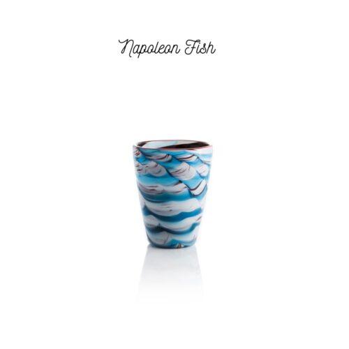 Bicchiere colorato Napoleon fish Mares Italesse