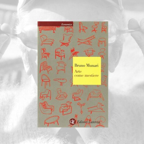 Libro Arte come mestiere, Bruno Munari, LATERZA